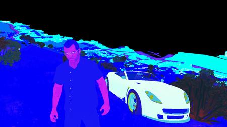 GTA V - Graphics Study - Adrian Courrèges